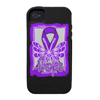 Lupus Awareness Hope Butterfly Vibe iPhone 4 Cases