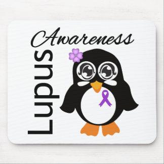 Lupus Awareness Penguin Mousepads