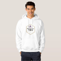 Lupus Awareness Purple Ribbon Hope Hoodie