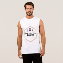 Lupus Awareness Purple Ribbon Hope Sleeveless Shirt