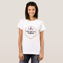 Lupus Awareness Purple Ribbon Hope T-Shirt