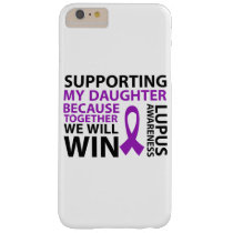 Lupus Awareness Purple Ribbon Supporting Daughter Barely There iPhone 6 Plus Case