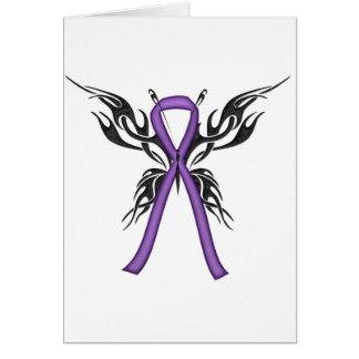 Lupus Awareness - Tribal Butterfly Card