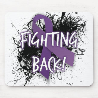 Lupus Back- que lucha Tapetes De Ratón