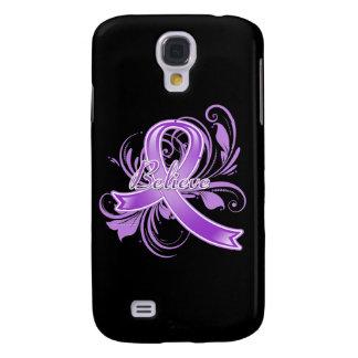Lupus Believe Flourish Ribbon Samsung Galaxy S4 Cases
