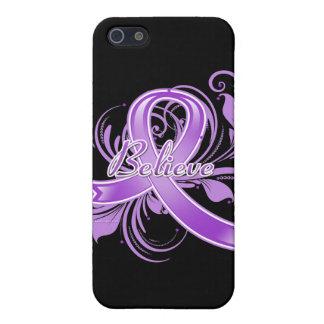 Lupus Believe Flourish Ribbon iPhone SE/5/5s Cover