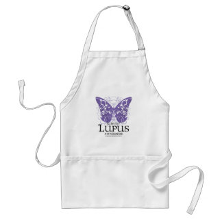 Lupus Butterfly Adult Apron