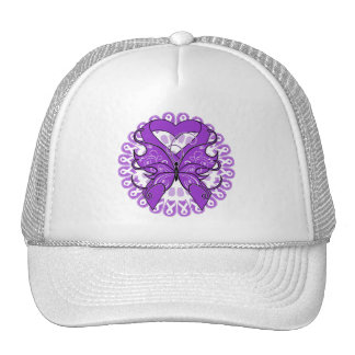 Lupus Butterfly Circle of Ribbons Trucker Hat