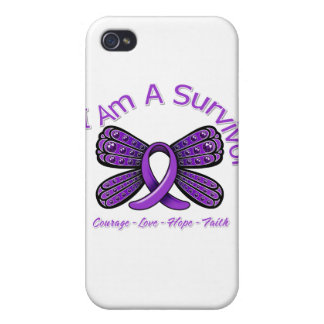 Lupus Butterfly I Am A Survivor iPhone 4/4S Cover
