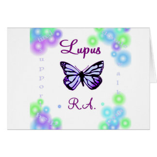Lupus butterfly note cards