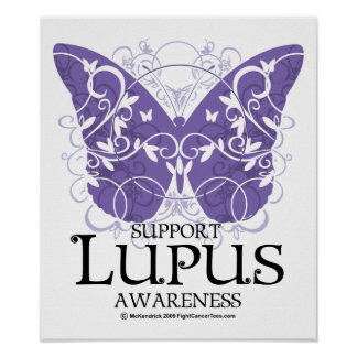 Lupus Butterfly Print