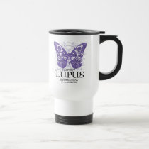 Lupus Butterfly Travel Mug