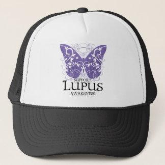 Lupus Butterfly Trucker Hat