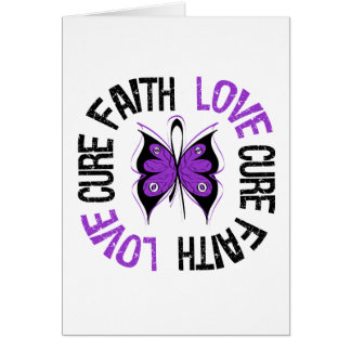Lupus Cancer Faith Love Cure Greeting Cards