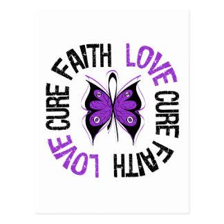 Lupus Cancer Faith Love Cure Postcard