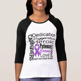 Lupus Caregivers Collage Tshirts