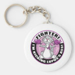 Lupus Cat Fighter Keychains