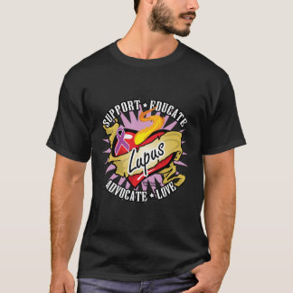 Lupus Classic Heart T-Shirt