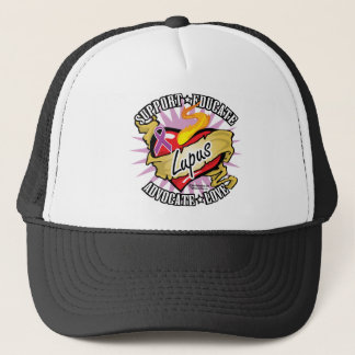 Lupus Classic Heart Trucker Hat