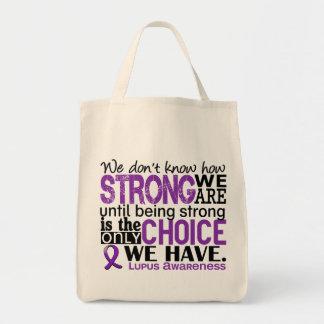 Lupus cómo es fuerte somos bolsa tela para la compra