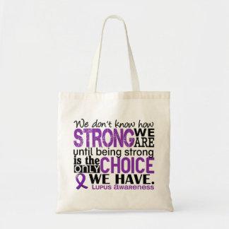 Lupus cómo es fuerte somos bolsa tela barata