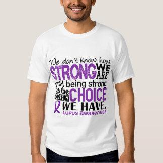 Lupus cómo es fuerte somos playeras