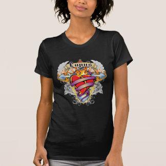 Lupus Cross & Heart T-Shirt