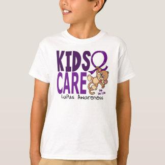 Lupus del cuidado 1 de los niños playera