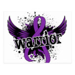 Lupus del guerrero 16 postal