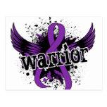 Lupus del guerrero 16 tarjeta postal