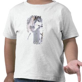 Lupus del lobo, de Canis de madera, película Utah Camisetas