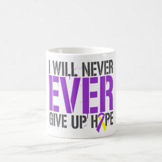 Lupus Endometriosis I Will Never Ever Give Up Hope Classic White Coffee Mug