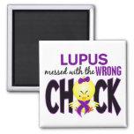 Lupus ensuciado con el polluelo incorrecto imanes