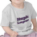 Lupus estúpido camisetas