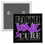 Lupus Faith Love Cure Pinback Button