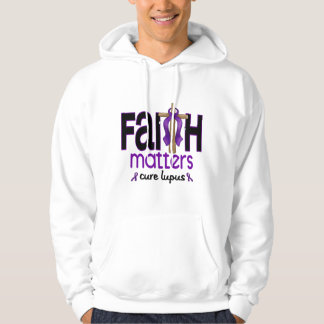 Lupus Faith Matters Cross 1 Hooded Pullover
