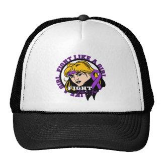 Lupus Fight Like A Girl Attitude Trucker Hat