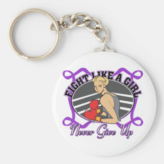 Lupus Fight Like A Girl Boxer Keychains