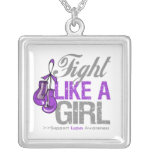 Lupus -  Fight Like a Girl Boxing Gloves Pendants