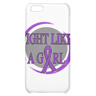 Lupus Fight Like A Girl Circular iPhone 5C Covers