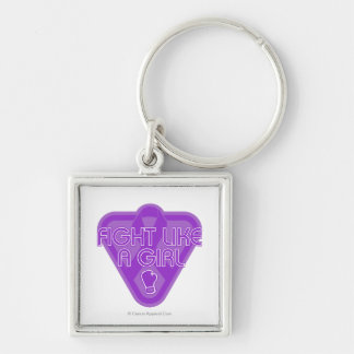 Lupus Fight Like A Girl Glove Key Chain