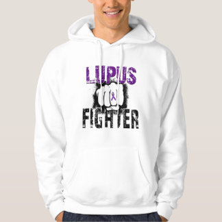 Lupus Fighter with Fist Hoodie