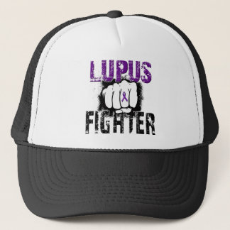 Lupus Fighter with Fist Trucker Hat