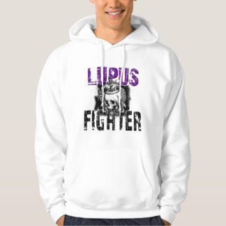 Lupus Fighter with Skull Hoodie