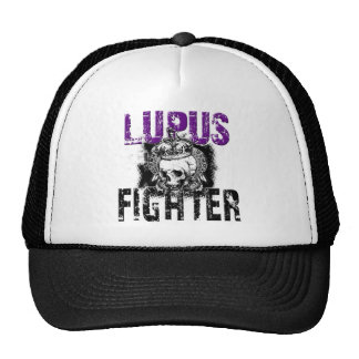 Lupus Fighter with Skull Trucker Hats
