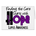 Lupus HOPE 4 Card