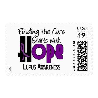 Lupus HOPE 4 Stamp