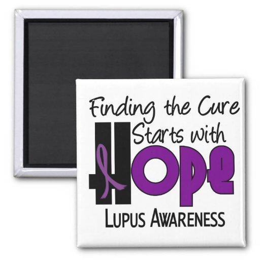 Lupus HOPE 4 Refrigerator Magnets