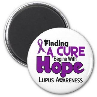 Lupus HOPE 5 Magnet