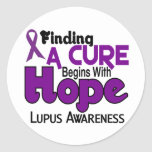 Lupus HOPE 5 Sticker